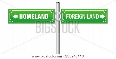 Foreign Land And Homeland Written