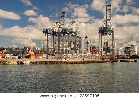 Auckland Ferguson Container Terminal
