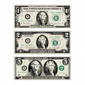 In This Graphic, The 1 And 2 Dollar Bills Are Mereged To Make A 3 Dollar Bill. Use In A Variety Of W poster