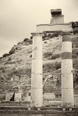 stock photo of artemis  - The old ruins of the city of Ephesus in modern day Turkey - JPG