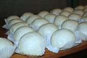 Siopao (steamed Buns) Siopao, Or Steamed Buns Is A Famous Snack Sold Mostly In China And The Philipp poster