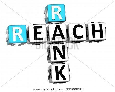 3D Reach Rank Crossword