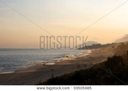 Sunset on Camboinhas beach