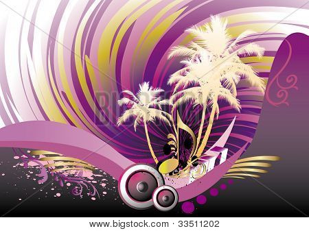 music, party background