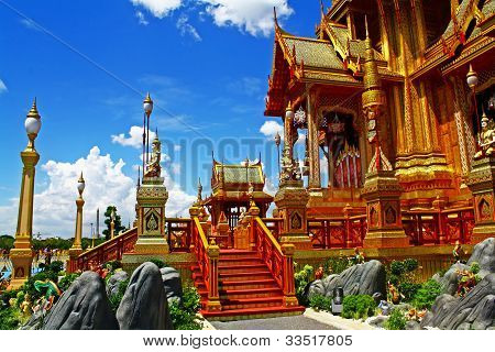 The Royal Crematorium (Phra Men)