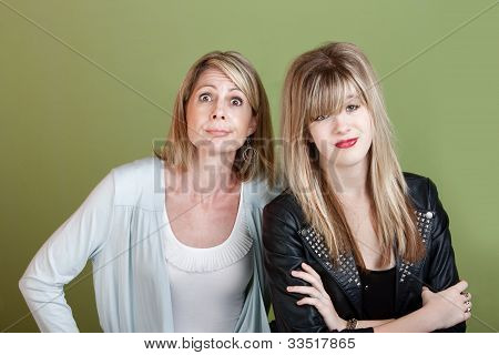 Mother And Daughter With Problems
