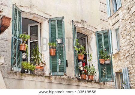 Window Garden In Vence France