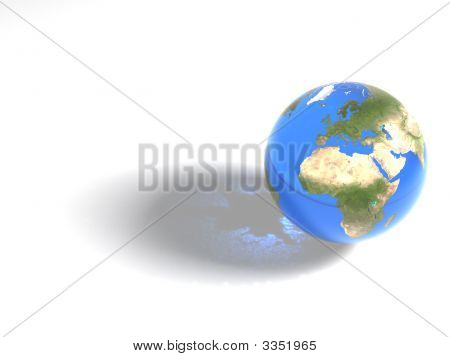 Blue Marble - Africa & Europe