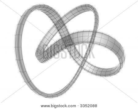 Moebius Ring Frame