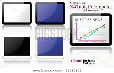Minimal Clean tablets set