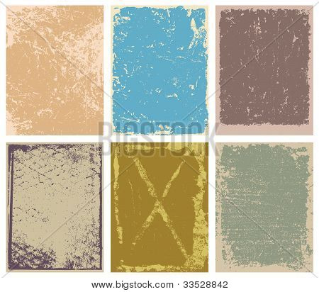 Vector Grunge Backgrounds