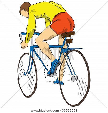 Athlete Bicyclist