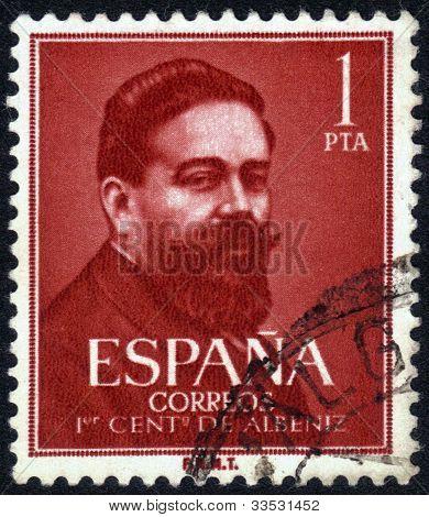 Portrait Isaac Manuel Francisco Albéniz