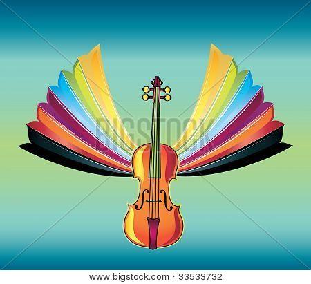 vivid music design vector