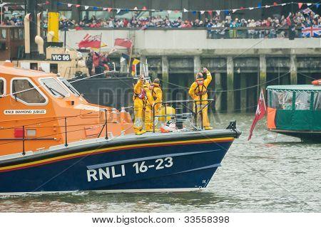 RNLI Lifeboat Crew