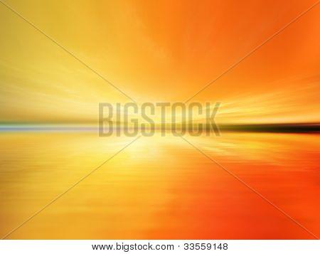 Vibrant Waterscape