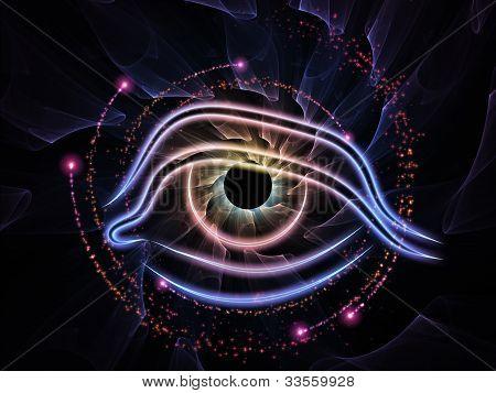 Fractal Vision Abstract