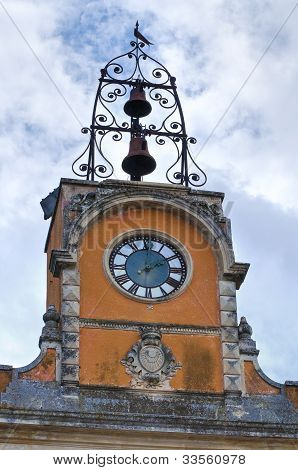 Municipal building. Calimera. Puglia. Italy.