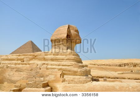 The Sphinx Great Pyramid