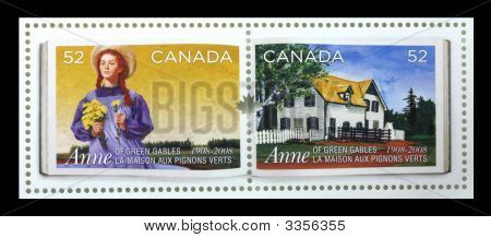 Anne Of Green Gables Canadian Stamp