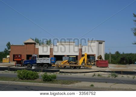 Commercial Property Under Construction.