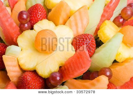 Fruit Salad Background