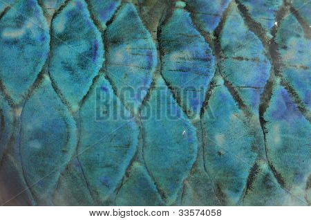Abstract Fish Scale Background