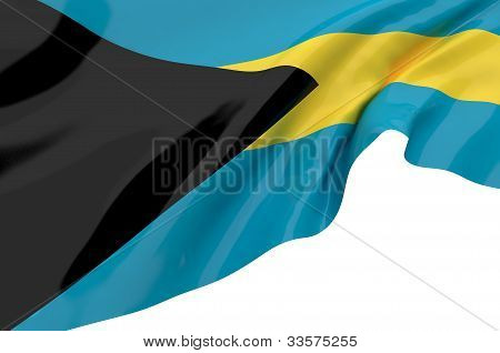 Vector Flags Of Bahamas