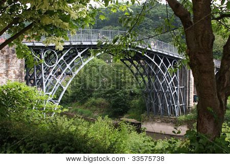 Ironbridge, Shropshire, UK.
