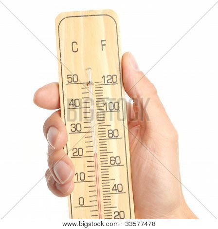 Hand Hold Thermometer