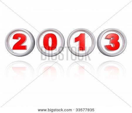 Red In Torus 2013
