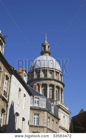 Cathedral In Old Town of Boulogne-sur-mer. France