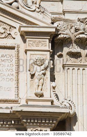 Cathedral of Lecce. Puglia. Italy.