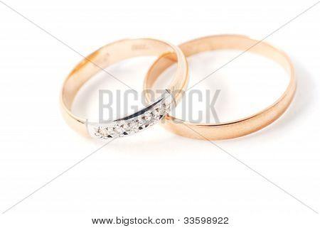 Isolated Wedding Rings