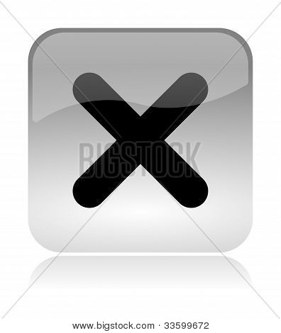 Cross, Uncheck, Web Interface Icon