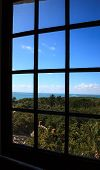 Window From Inside The Cape Florida Lighthouse poster