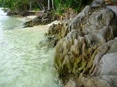 picture of promontory  - The beautiful Gelam beach located on the promontory of the island of Java Karimun - JPG