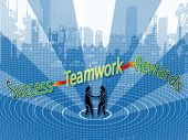 Teamwork Leads To Success And Rewards