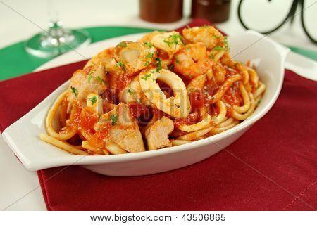 Espaguete Marinara