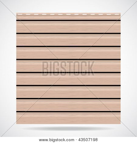 Siding Texture Panel Beige Color