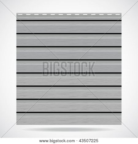 Siding Texture Panel Gray Color