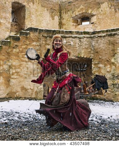 Cave-woman Dancing