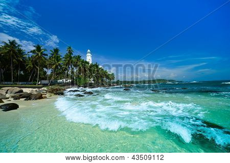 Lighthouse Dondra Head, Sri Lanka