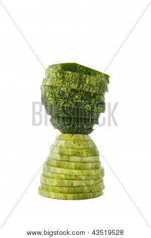 Hour glass cucumber