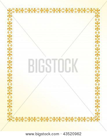 Vintage Royal Lilly Frame