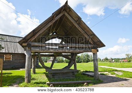 Wooden well water