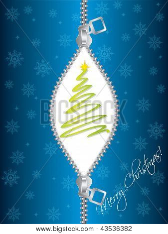 Zipped Christmas Greeting