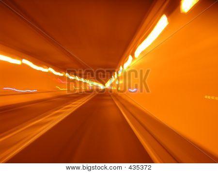 Blured Tunnel