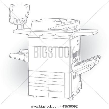 Color laser printer