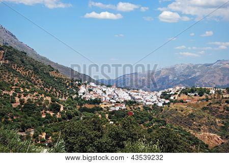 White village, Cortes de la Frontera, Spain.